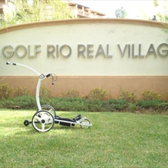 Smartcaddy SC301R at the Rio Real golf course in Marbella